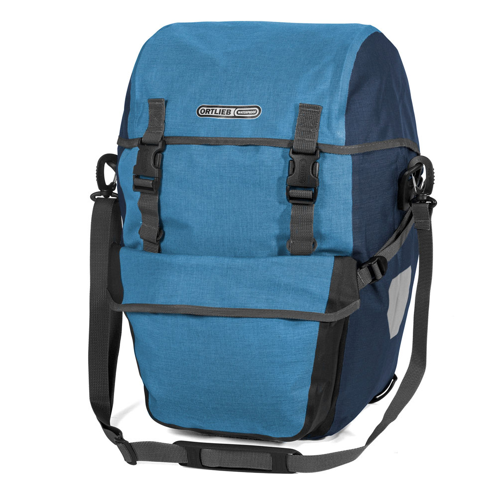 ORTLIEB Bike-Packer Plus - denim- steel blue