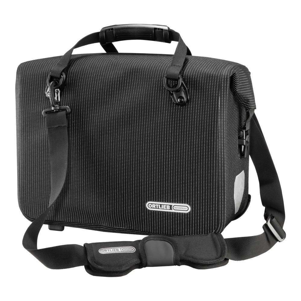 ORTLIEB Office-Bag High Visibility - black reflex