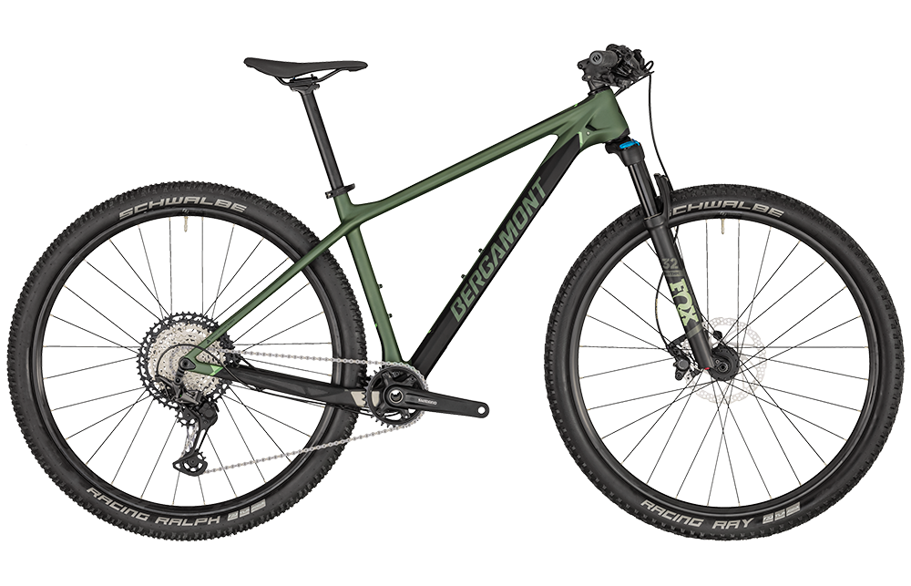 Bergamont Revox Pro - pale green/black (matt) - L