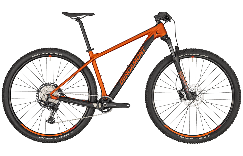 Bergamont Revox Sport - dirty orange/black (matt) - L