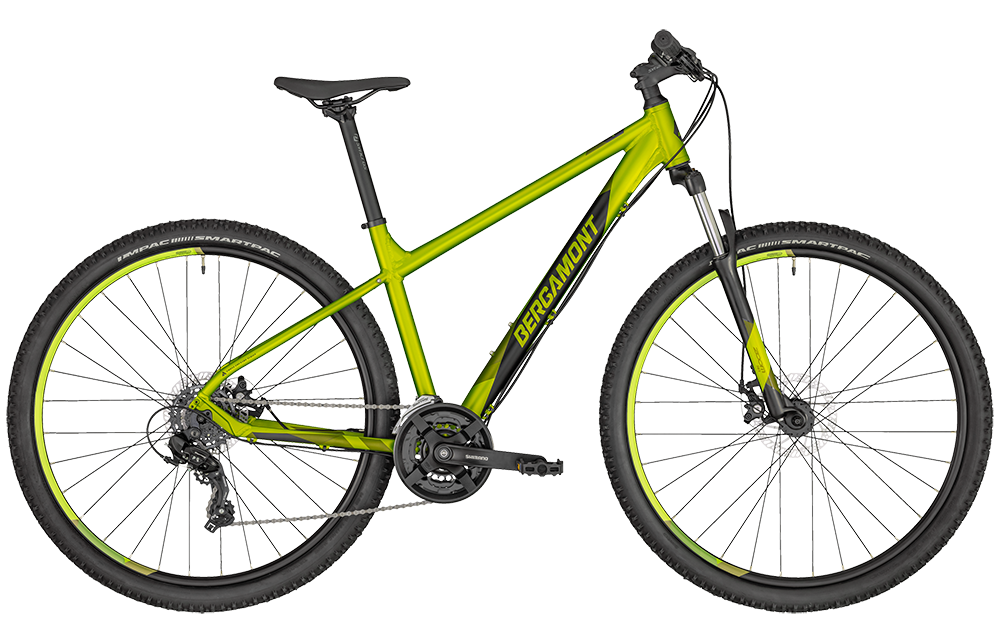 Bergamont Revox 2 lime - lime green metallic/black (matt) - M7