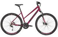 Bergamont Helix 5 Lady - berry red/black/coral red (matt) - 52 cm