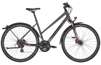 Bergamont Helix 4 EQ Lady - anthracite/black/purple (matt/shiny) - 56 cm