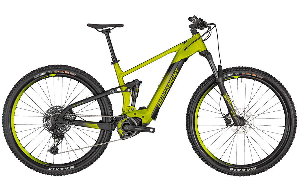 Bergamont E-Contrail Pro - lime green metallic/black (matt) - XL